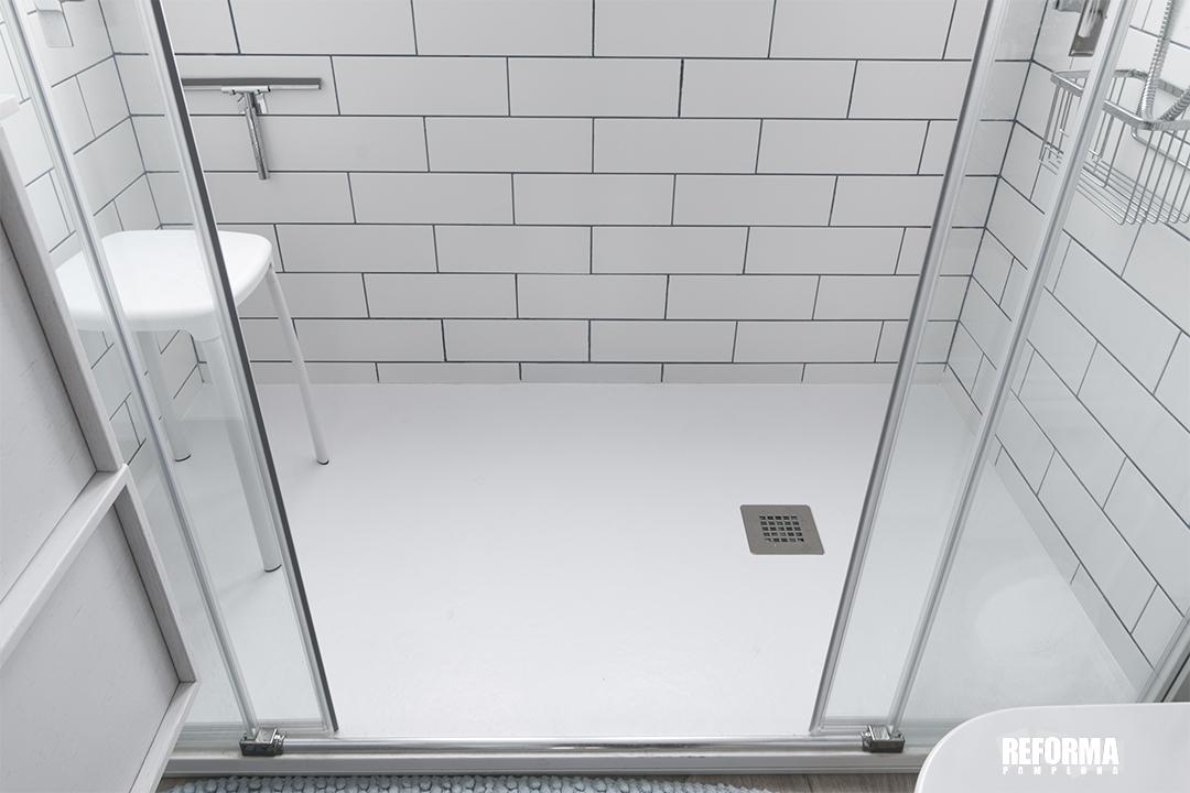 Burlada cambio de bañera por ducha