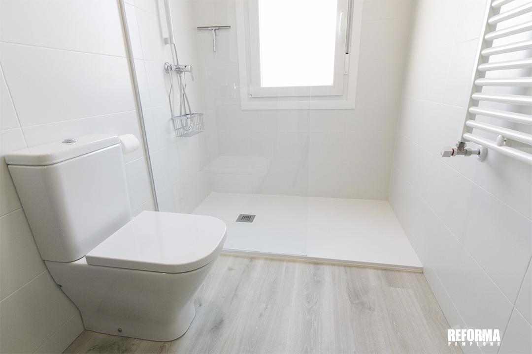 Reforma Pamplona cambio de bañera por ducha