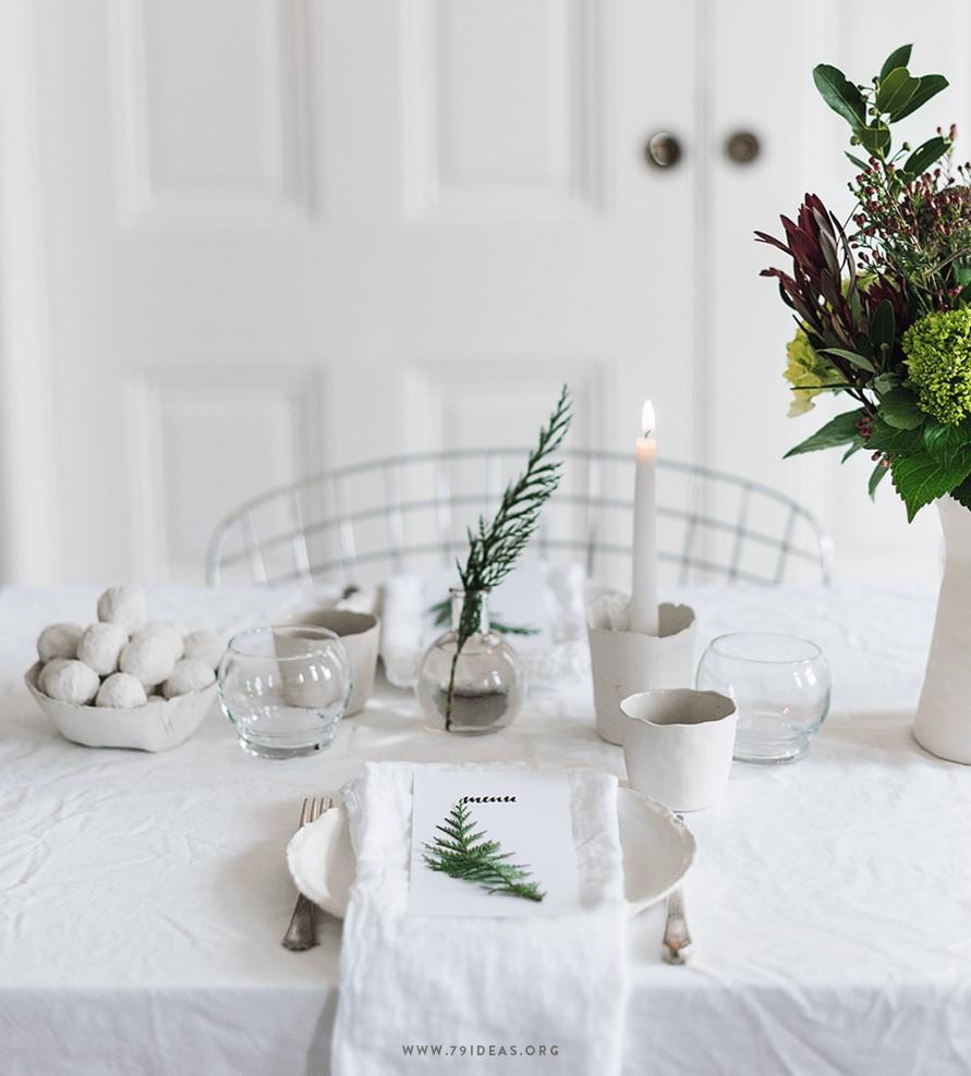 navidad decora tu mesa