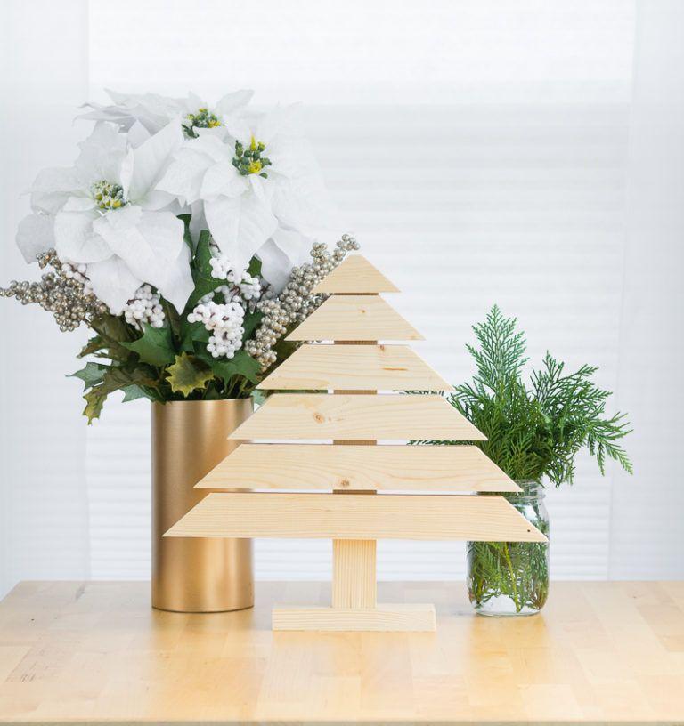 navidad de forma alternativa pino