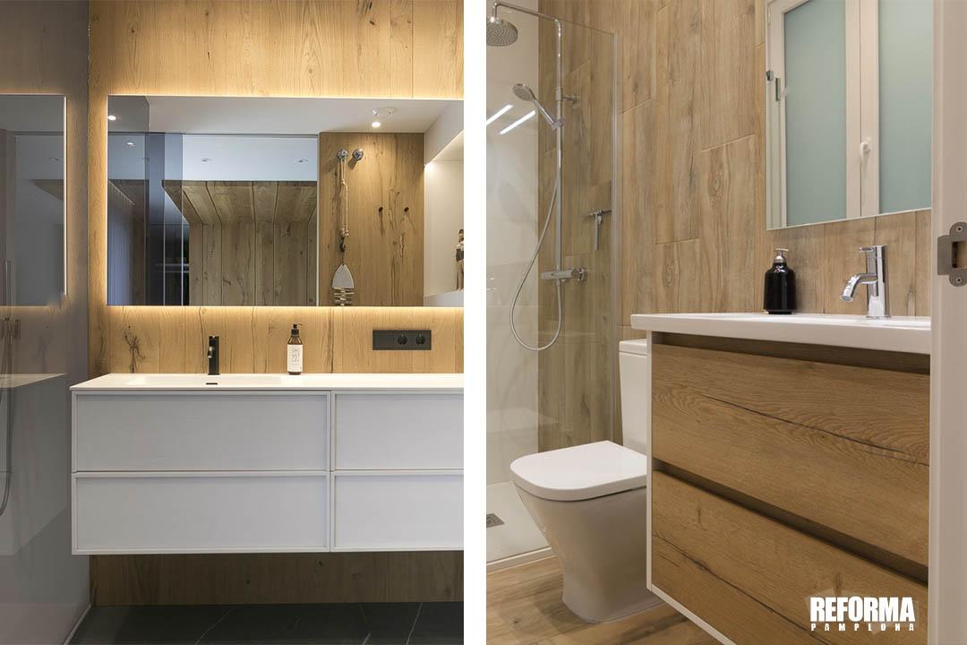 colores madera cuarto de baño